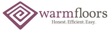 warmfloors - honest. efficient. easy.