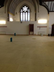 Underfloor Heating to Shipley Educational Mosque