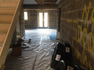 200m Underfloor Heating System in Bradford