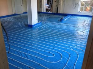 100m² Underfloor Heating in Bristol